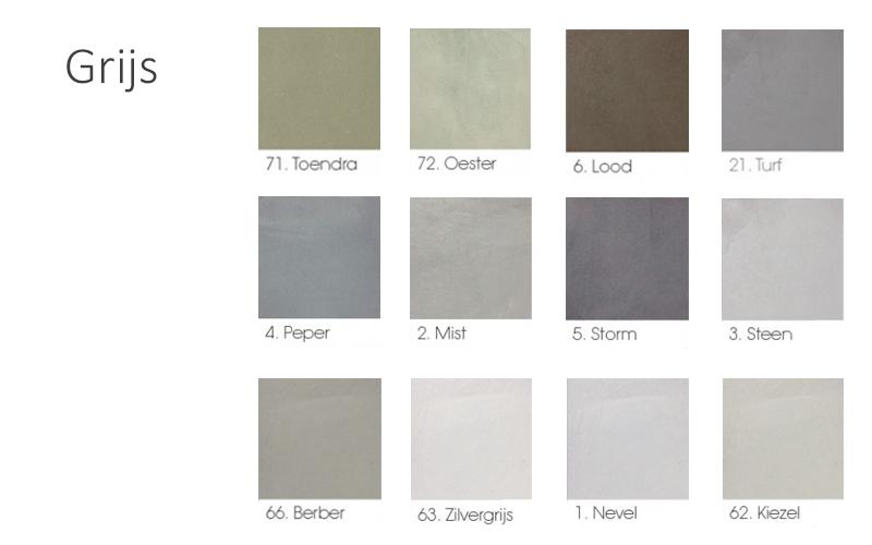 beton look kleur grijs