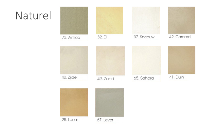 naturel kleuren beton cire