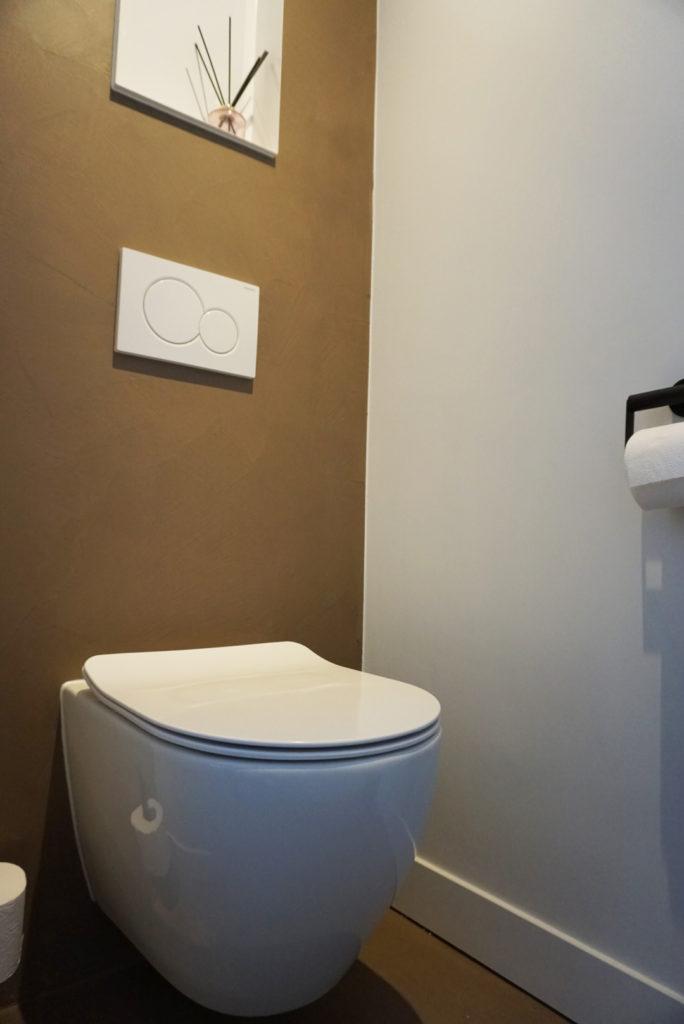 toilet betonlook achterwand